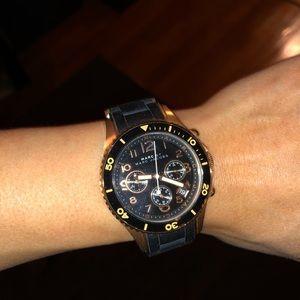 Marc Jacobs Black gold women's watch